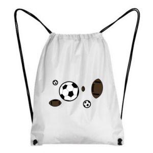 Backpack-bag Balls for games