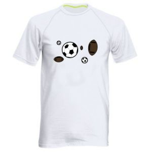 Men's sports t-shirt Balls for games
