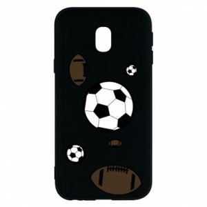 Phone case for Samsung J3 2017 Balls for games