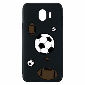 Phone case for Samsung J4 Balls for games