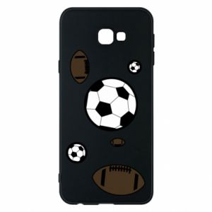 Phone case for Samsung J4 Plus 2018 Balls for games