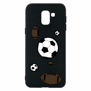 Phone case for Samsung J6 Balls for games