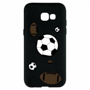 Phone case for Samsung A5 2017 Balls for games