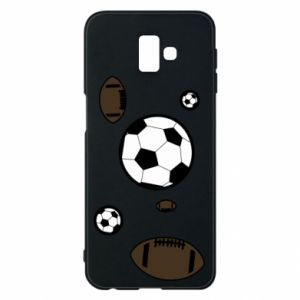 Phone case for Samsung J6 Plus 2018 Balls for games