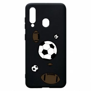 Phone case for Samsung A60 Balls for games