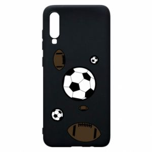 Phone case for Samsung A70 Balls for games