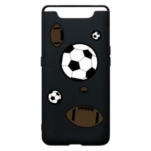 Phone case for Samsung A80 Balls for games