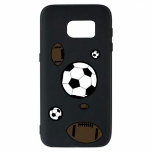 Phone case for Samsung S7 Balls for games