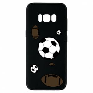 Phone case for Samsung S8 Balls for games