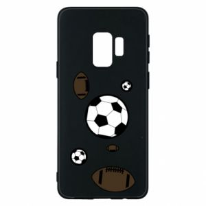Phone case for Samsung S9 Balls for games