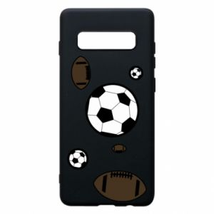 Phone case for Samsung S10+ Balls for games