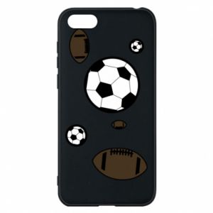 Phone case for Huawei Y5 2018 Balls for games