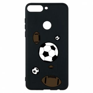 Phone case for Huawei Y7 Prime 2018 Balls for games