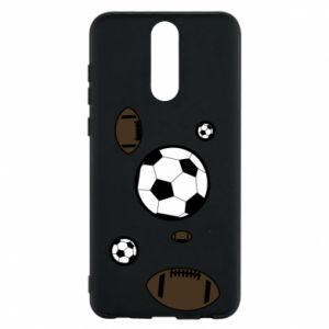Phone case for Huawei Mate 10 Lite Balls for games
