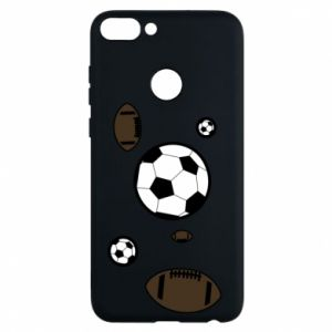 Phone case for Huawei P Smart Balls for games