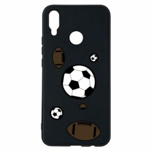 Phone case for Huawei P Smart Plus Balls for games