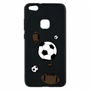 Phone case for Huawei P10 Lite Balls for games