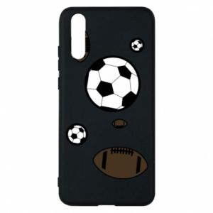 Phone case for Huawei P20 Balls for games