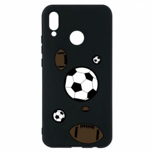 Phone case for Huawei P20 Lite Balls for games