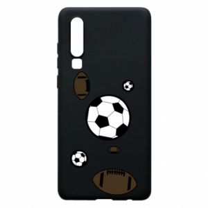 Phone case for Huawei P30 Balls for games