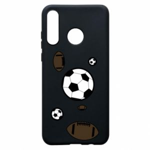 Phone case for Huawei P30 Lite Balls for games