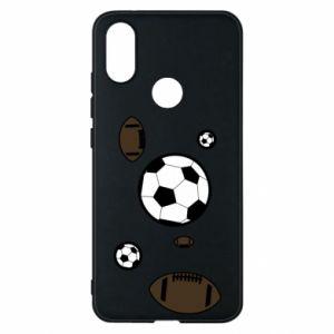Phone case for Xiaomi Mi A2 Balls for games