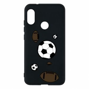 Phone case for Mi A2 Lite Balls for games
