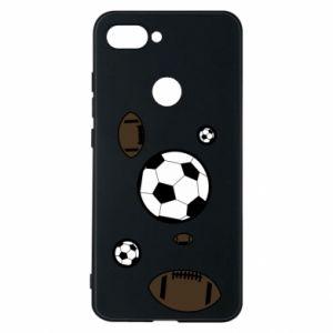Phone case for Xiaomi Mi8 Lite Balls for games