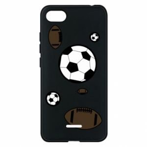 Phone case for Xiaomi Redmi 6A Balls for games