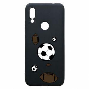 Phone case for Xiaomi Redmi 7 Balls for games
