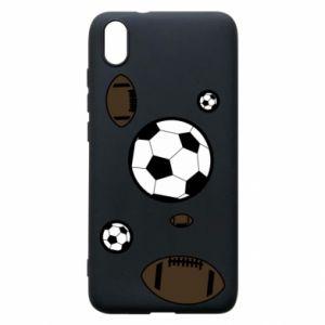 Phone case for Xiaomi Redmi 7A Balls for games