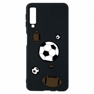 Phone case for Samsung A7 2018 Balls for games