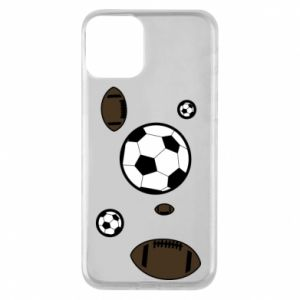 Phone case for iPhone 11 Balls for games