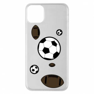 Phone case for iPhone 11 Pro Max Balls for games