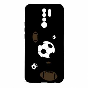 Xiaomi Redmi 9 Case Balls for games