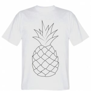 T-shirt Pineapple contour