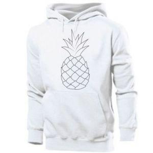 Męska bluza z kapturem Pineapple contour