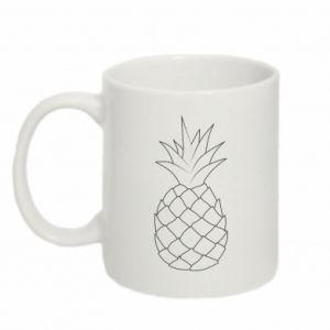 Kubek 330ml Pineapple contour