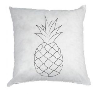 Poduszka Pineapple contour