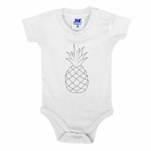 Body dla dzieci Pineapple contour