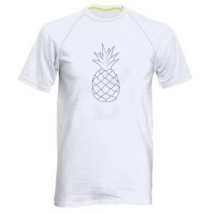 Męska koszulka sportowa Pineapple contour