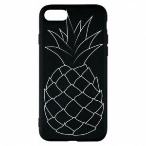 Etui na iPhone 7 Pineapple contour