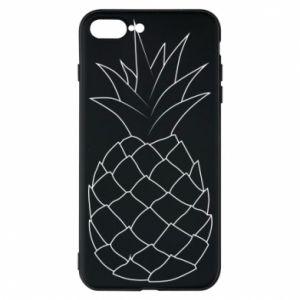 Etui na iPhone 7 Plus Pineapple contour