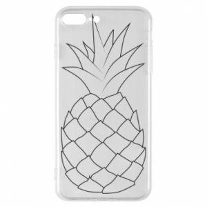 Etui na iPhone 8 Plus Pineapple contour