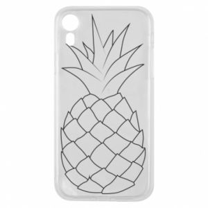 Etui na iPhone XR Pineapple contour