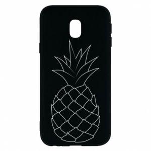 Etui na Samsung J3 2017 Pineapple contour