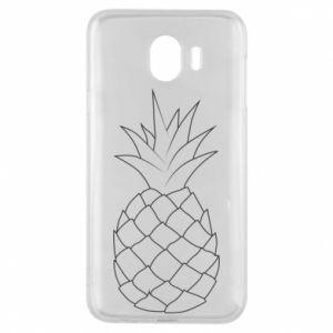 Etui na Samsung J4 Pineapple contour