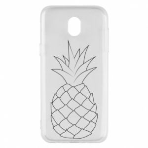 Etui na Samsung J5 2017 Pineapple contour