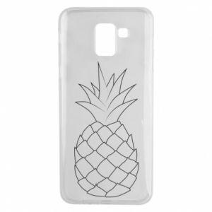 Etui na Samsung J6 Pineapple contour