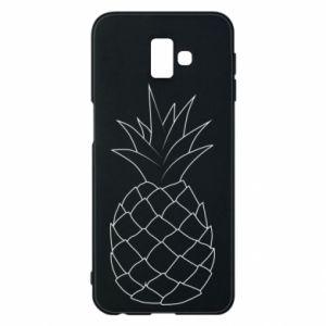 Etui na Samsung J6 Plus 2018 Pineapple contour